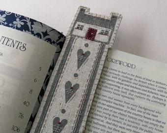 Embellished Bookmark Lino Print Kit - Cottage