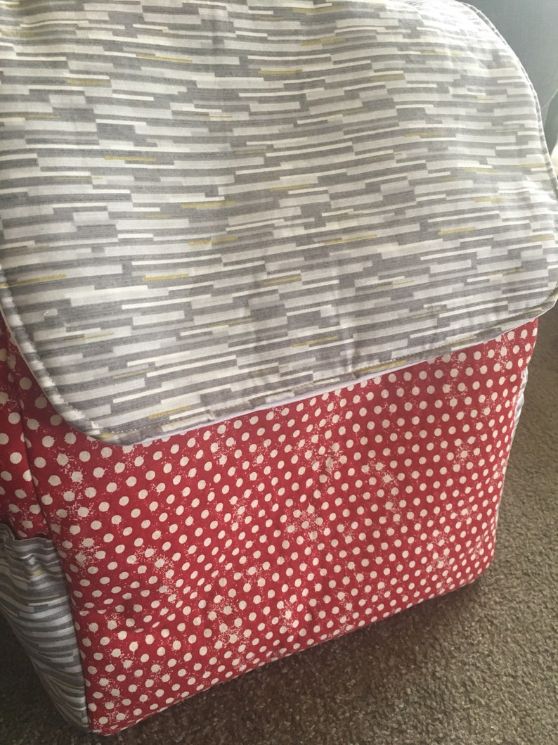 Extra Large School Bag or Overnight Bag Twin Size Nappy Bag. Hands Free Perfect as a Day Care Bag Backpack Style Diaper Bag