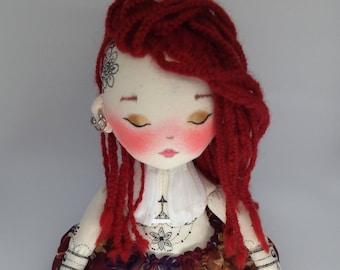 PDF doll Tutorial, pdf download, henna tätowierung, doll clothes pattern,  PDF Digital