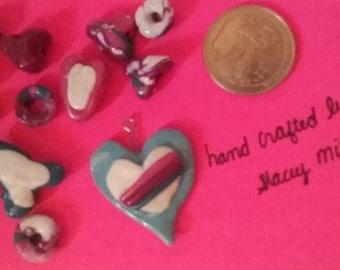 Heart Bead Clay Set