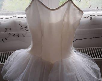 Vintage ballerina tutu costume.