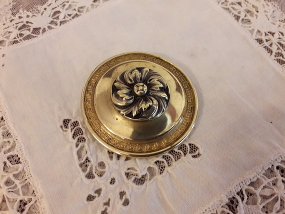 Antique brooch, flower brooch, vintage brooch, pin