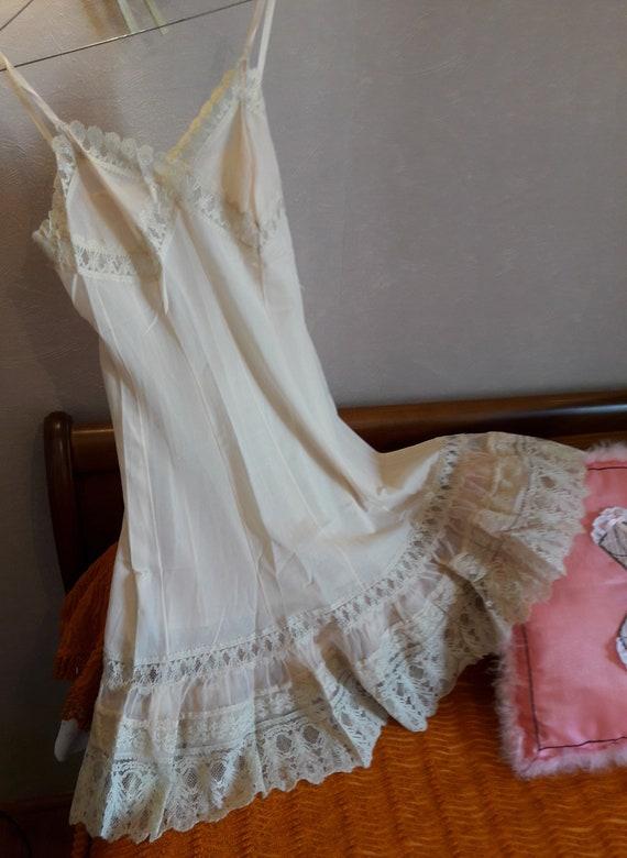 Lace nightgown, Nylon jumpsuit, Calais lace dress