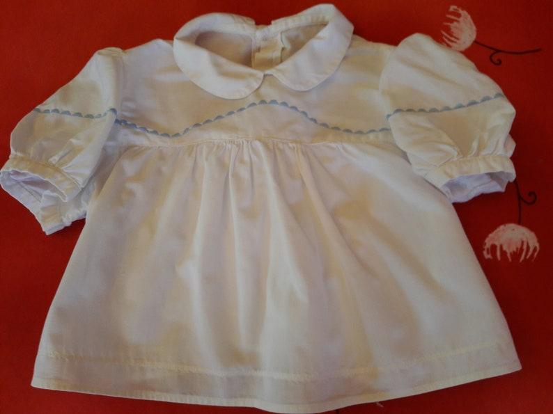 0a16f4929be03 Top bébé vintage blouse bébé vintage chemisier bébé vintage