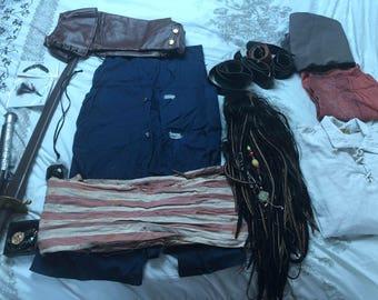 Jack Sparrow cosplay costume
