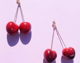 Lurad Cherry Earrings