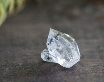 Herkimer Diamond Crystal, AA Grade Herkimer, Herkimer Double Terminated, Healing Crystals