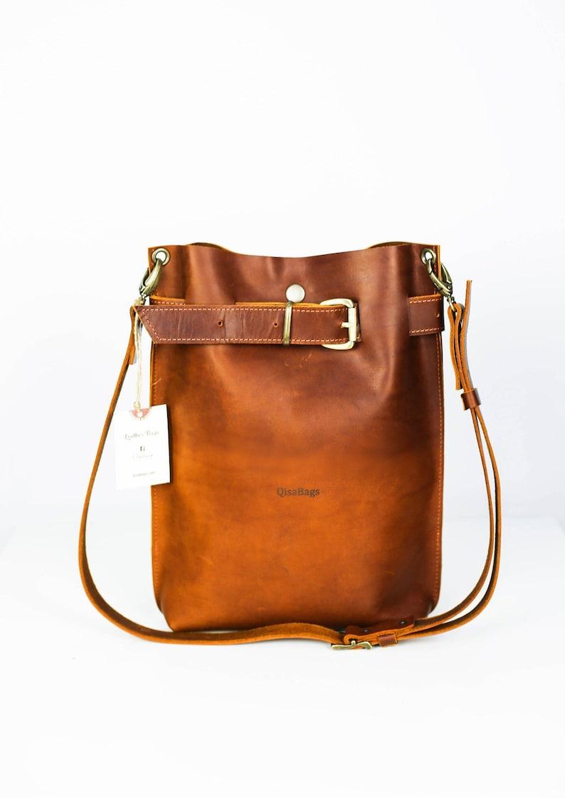 Leather Bag Leather Backpack Leather Purse Women Handbag  644f34b7b7e39
