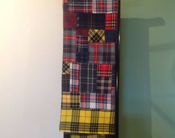 Handmade Scottish Plaid in Italy