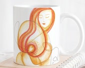 BEAUTIFUL SOUL inspirational mug, self love positive affirmation,  you are beautiful mindfulness gift.