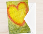 Follow your heart your bliss cards mindfulness intention affirmation cards by Pure Oasis Studio
