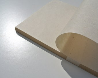 Lokta Paper . 80 GSM . Eco Paper A4 Pack . Dye Free Paper . Tree Free Paper . Handmade Paper . Calligraphy Paper .