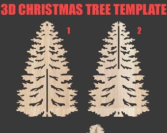 3d christmas tree   Etsy