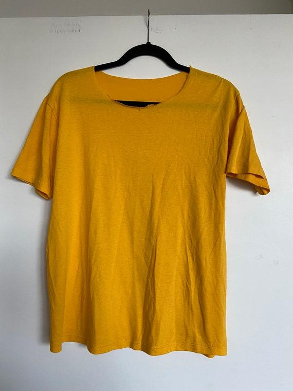 Vintage Yellow T-Shirt