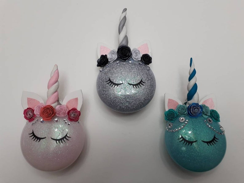 Babys First Christmas Ornament Unicorn Gift Babys First Christmas Bauble Babys First Christmas Baby Girl Ornament Ornaments For Girls