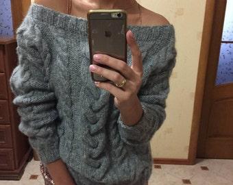 Alpaca&Merino fluffy sweater