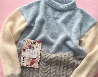 Alpaca&merino sweater women's sweater,  alpaca sweater , oversized , pullover