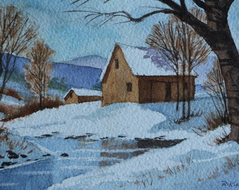 Vermont Snow & Barn