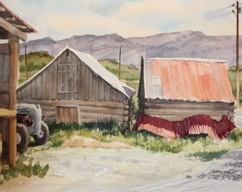 Barn & Tractor - Mesa, CO
