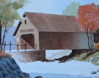 Brown Covered Bridge