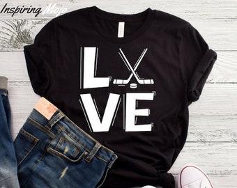 Love Hockey T-Shirt 10641b5a1