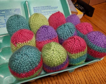 Hand Knitted Easter Eggs! [8]