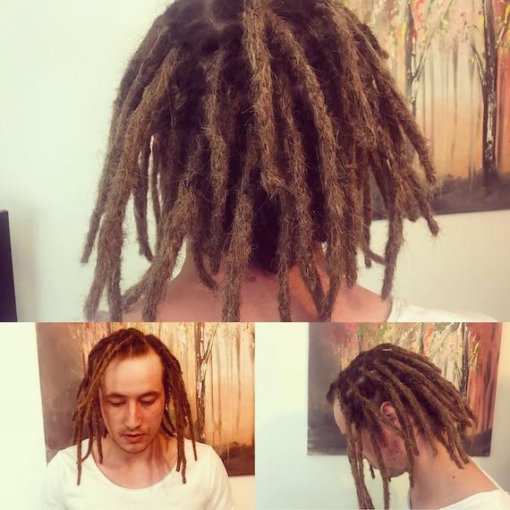 Sale Dark Blonde Human Hair Dreadlockslocksdread Etsy