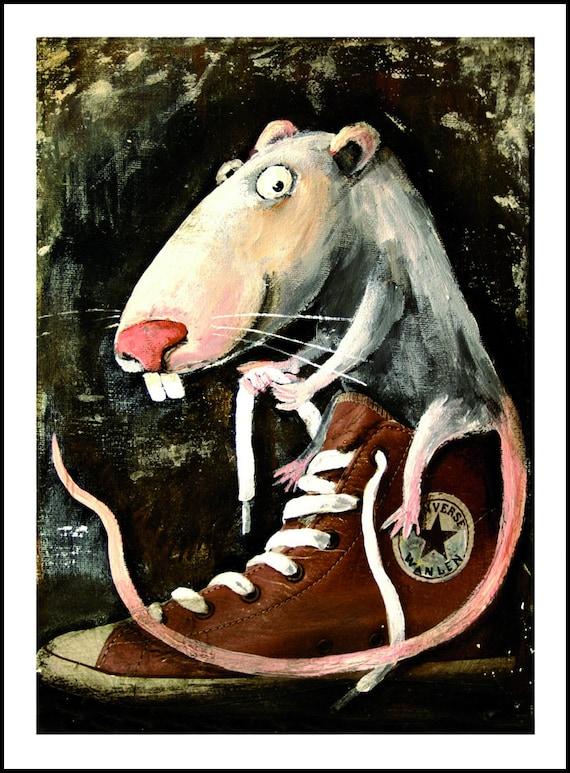 InchHelena TierbilderRatte TurnschuheFancy Art24cmx18cm9 Mit 7 RattenLustige RatWanlen 45 Bilder Paschkow Im X 09 ymn0NP8wvO