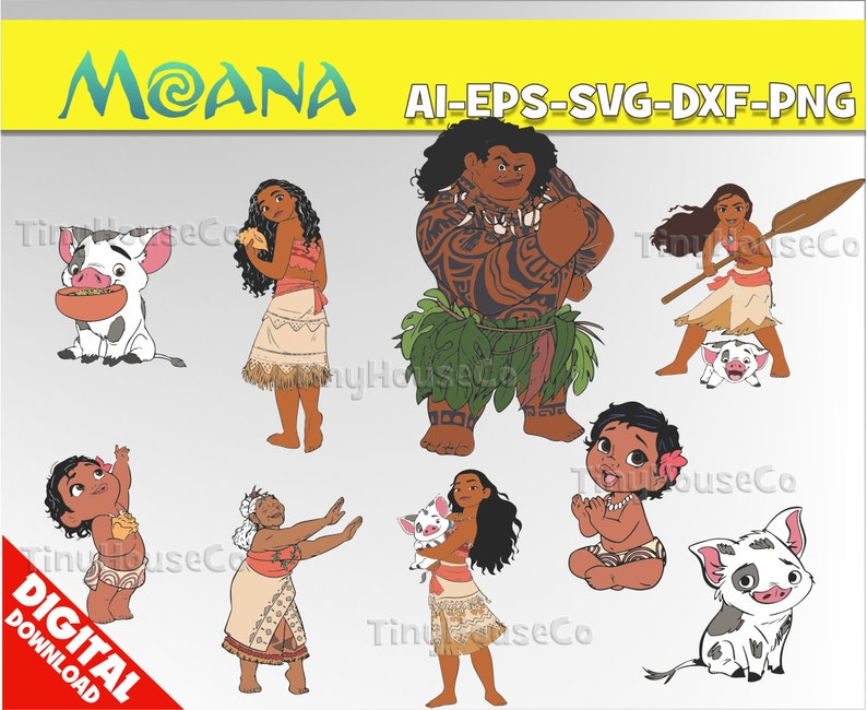 Moana Clipart Png