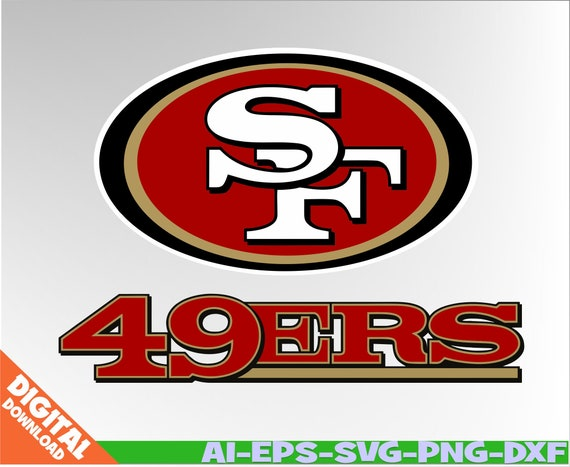 San Francisco 49ers Svg 49ers Clipart Nfl Svg Football Svg Etsy