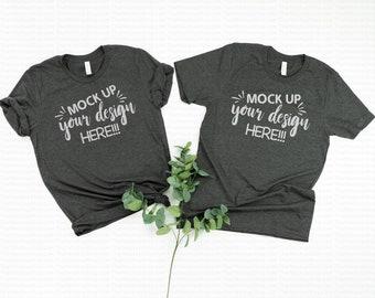 Download Free Tshirt mockup, Shirt Mock up, Shirt Mockup, couples mockup, family flat lay, mockups, shirt photography, bella canvas mockups, shirt flatlay PSD Template