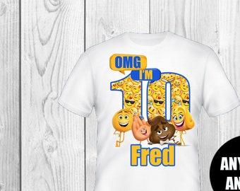 Emoji Birthday Shirt Boy And Girl Shirts