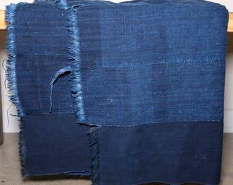 Mid century African Textile- indigo dyed