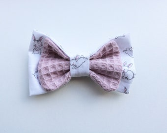 Bow Tie 'Bunny' pink (Easter)