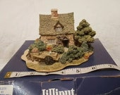 Lilliput Lane CRUCK END 1996 Anniversary Vintage Cottage. Boxed No Deed