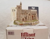 Lilliput Lane - St LAWRENCE CHURCH 1989 - Boxed Deed - Vintage Collector Ornament Collectible