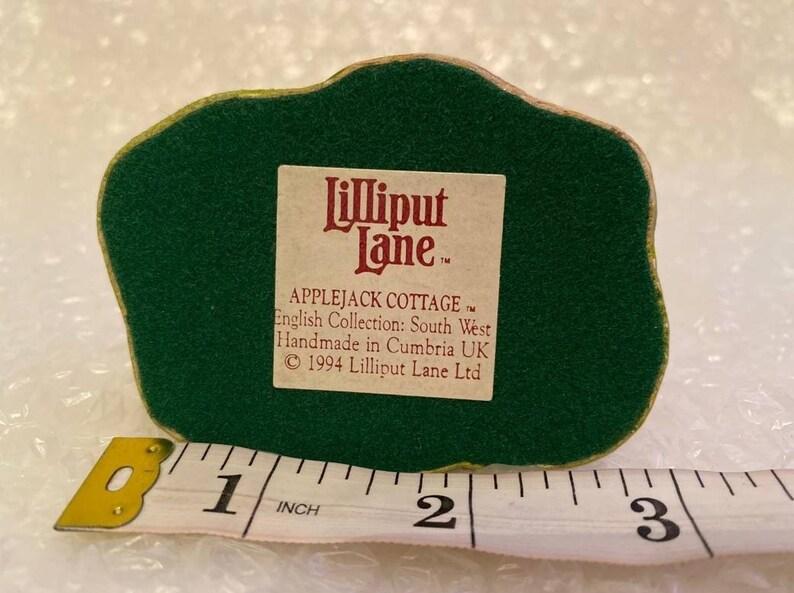 Lilliput Lane APPLEJACK COTTAGE 1994  Vintage Collectible *I combine postage on multiple purchases*