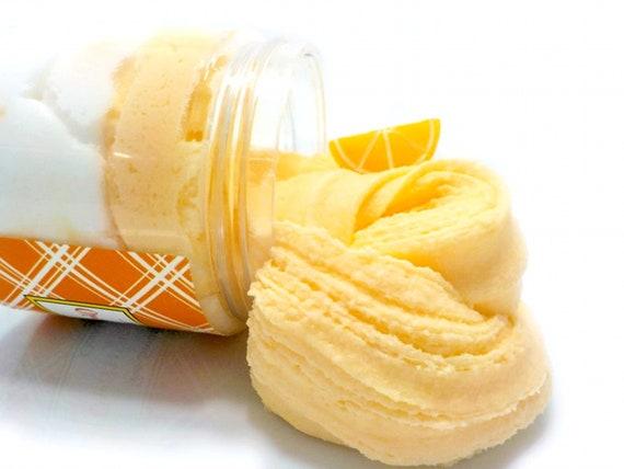 Orange Creamsicle Cloud Cream Slime  Cloud Cream  Layered