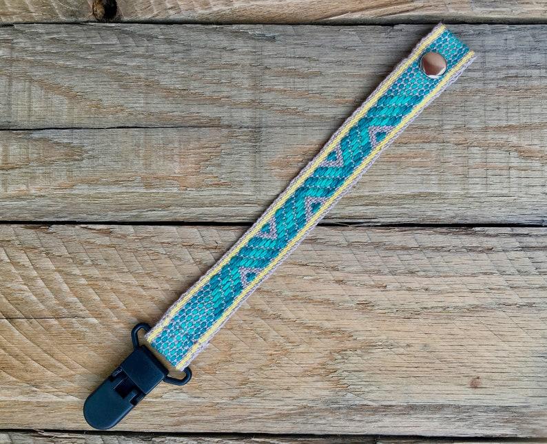 Sugar attach hand-woven lollipop fastener tetine fastener