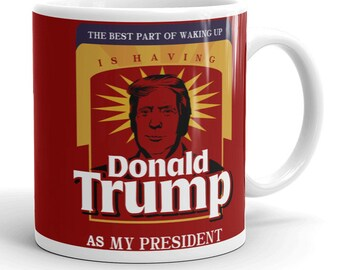 Donald Trump Mug, Custom Mug, Unique Mug, Cool Mug, Republican Mug, Awesome Mug, Republican, Coffee Mug,