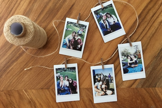 instax polaroid prints of your digital pos | etsy