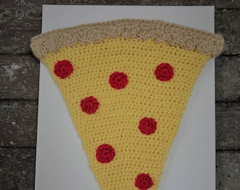 Pepperoni Pizza Cocoon Newborn Baby Crochet Photo Prop