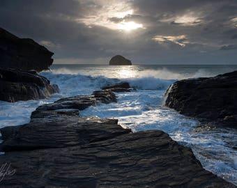 A Cornish Cove, Trebarwith Strand