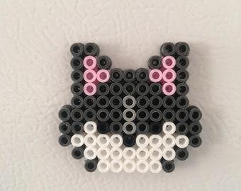 Dogs, cats fridge magnets. Handmade. Perler beads/hama beads/pixel art