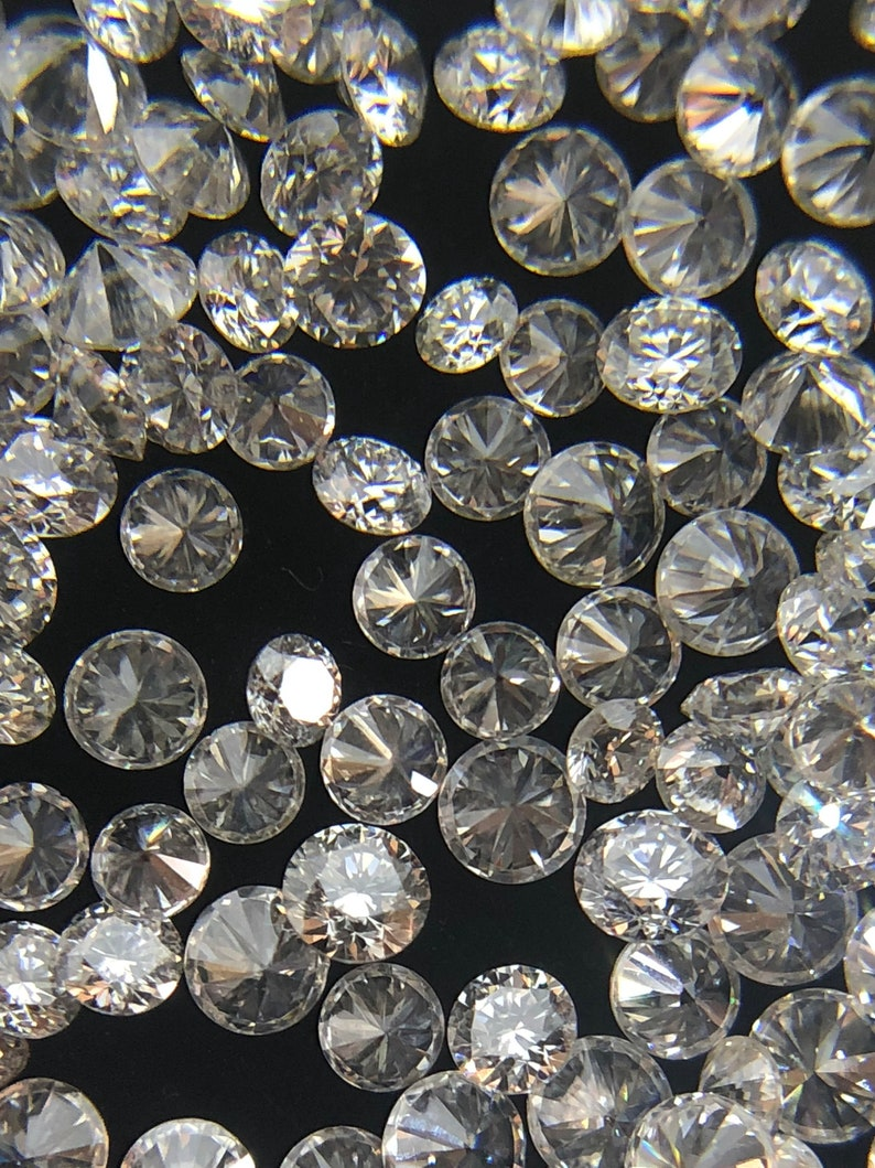 0.8MM-2MM 100/%NATURAL ROUND DIAMONDS LOOSE GEMSTONE F-G-H COLOR SI1-SI2 CLARITY