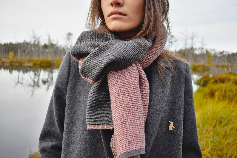 2ae77d15b3c1 NOUVEAU tissé à la main naturelle lin grande écharpe en laine