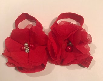 Red Barefoot Sandals (free shipping)