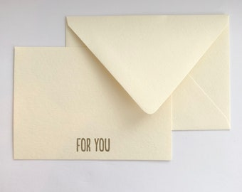 For You - Flat Card Set