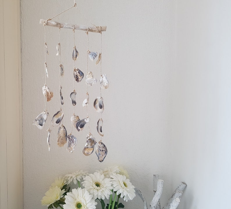 Talaba Oyster Shell Wind Chime Beach Style Garden Shell Etsy