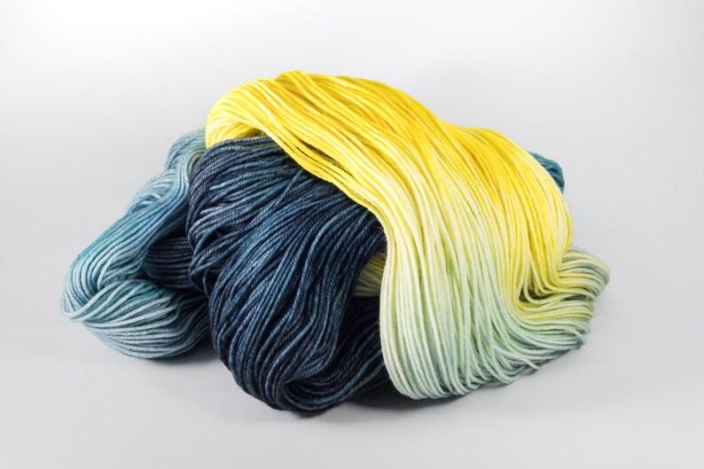 8020 Australian MerinoNylon Sock Yarn Hand Dyed Yarn WOMAN In THE WINDOW